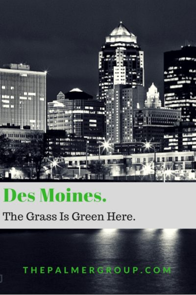 Des Moines The Grass is Green Here