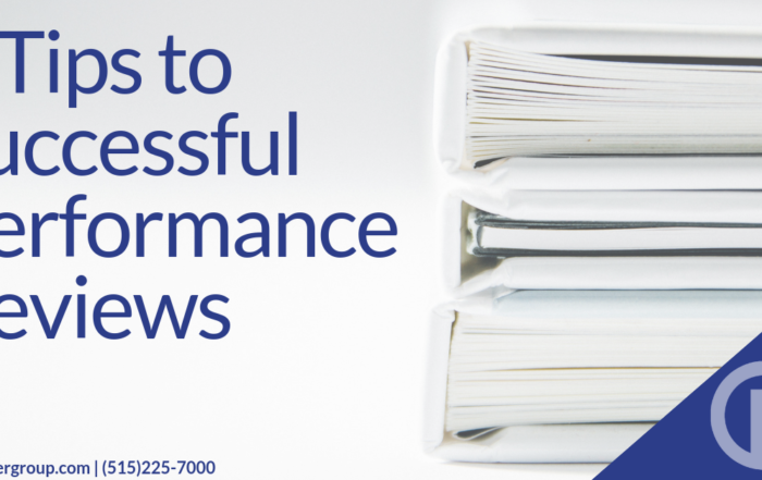 5 Tips to Successful Performance Reviews
