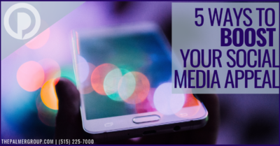 5 Ways to Boost Your Social Media Appeal