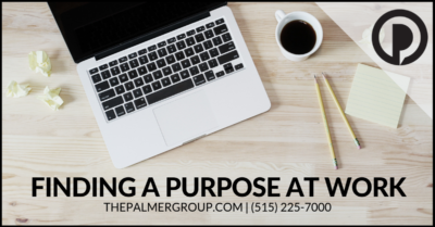 Finding a Purpose at Work